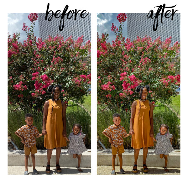 photo editing services before and after