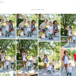 online proofing photo gallery
