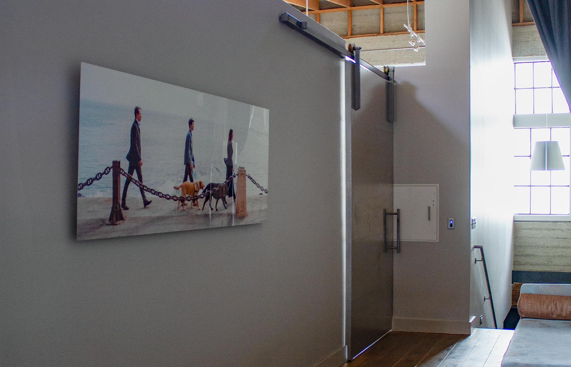 metal wall print