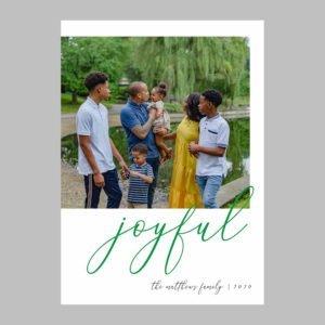 family photo christmas cards