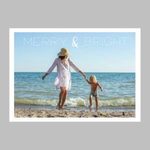 beach holiday cards